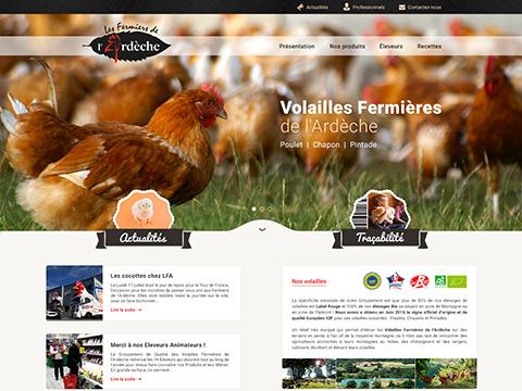 Les Volailles de l'Ardèche
