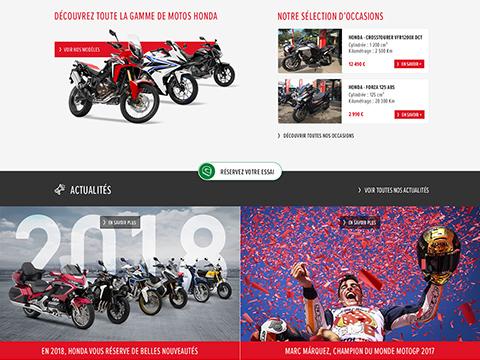 Concessionnaire Honda moto